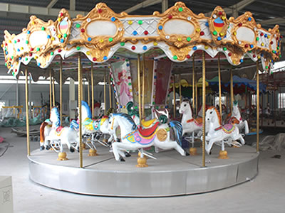 12 persons carousel kiddie ride