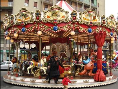 24 seats merry go round horse