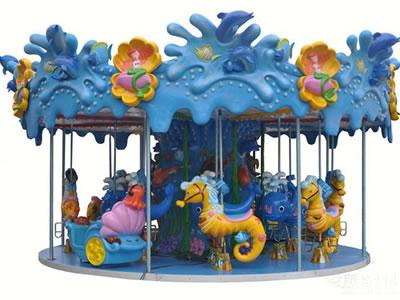Beston 18 seats seahorse carousel