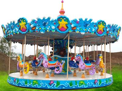 Beston 24 ocean carousel amusement ride