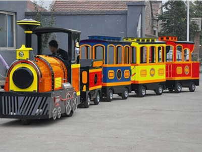 Beston tourist trackless train ride
