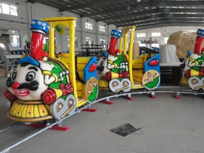 Big beard Kiddie electric games equipment amusement park track train