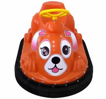 Cute kiddy bumper car