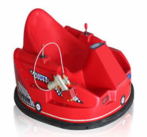 Spin zone bumper cars for kids