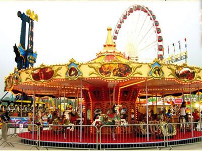 amusement park carousels