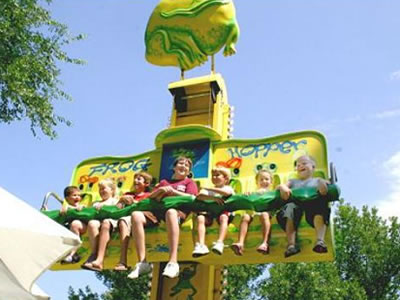 Beston frog hopper drop tower ride