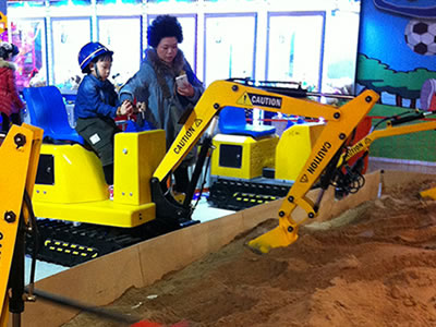 Beston kids excavator