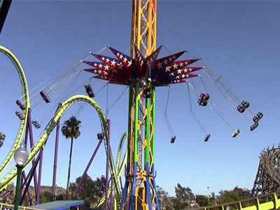Beston sky swings tower ride