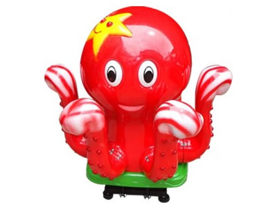 Octopus kids coin operated rides