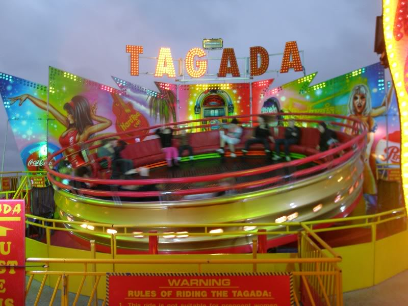 Tagada disco funfair ride Spinning