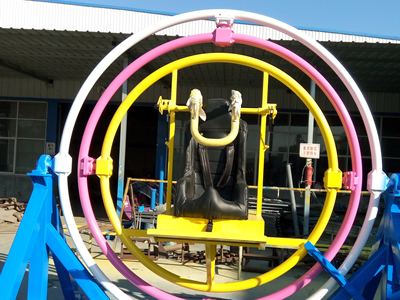 2 persons gyroscope ride for sale from Beston