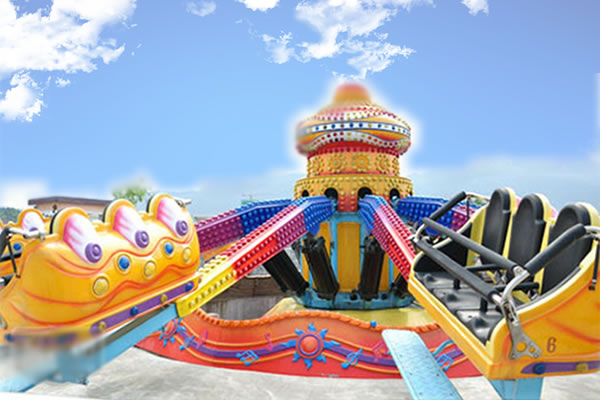 Beston techono jump fairground ride