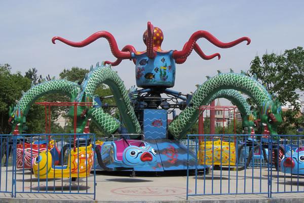 welcomed octopus amusement park rides