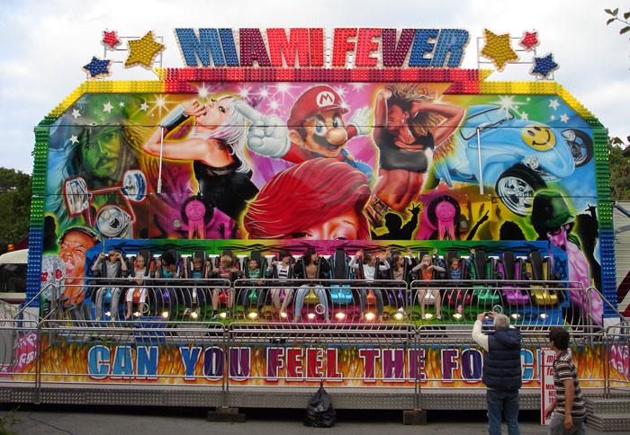 Beston funfair miami fever ride for sale