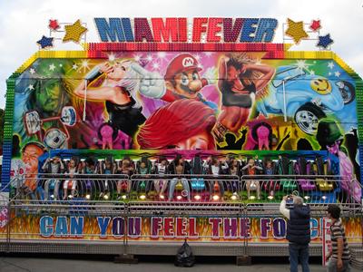 Beston funfair miami fever ride