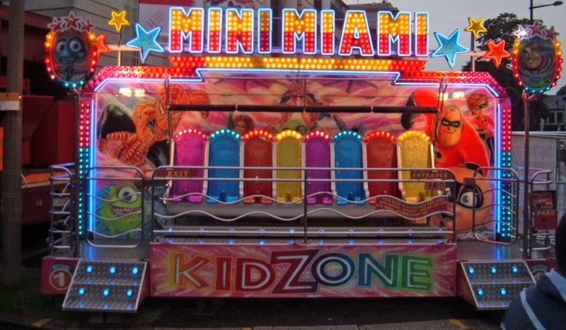 Mini miami ride with lights