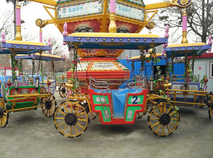 modern times fairground ride car