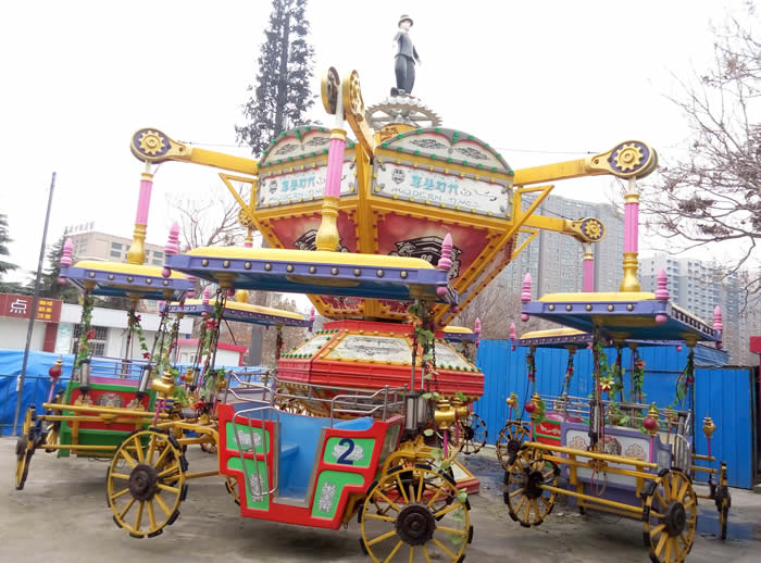 modern times ride at the amusement park