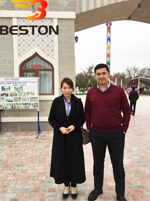 Beston Анна с Директором Asi парка
