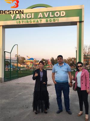 Beston Анна с клиентом Навои в Узбекистане