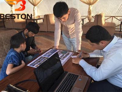 Клиенты в офис Beston Узбекистана