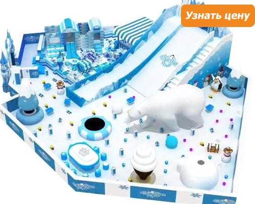 Beston Детский игровой лабиринт тема снег