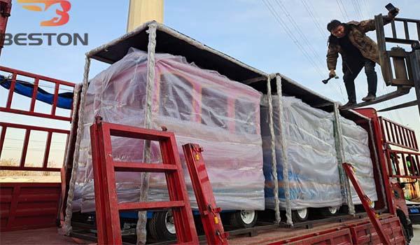 Beston Аттракцион паровозик отгрузил в Казахстан