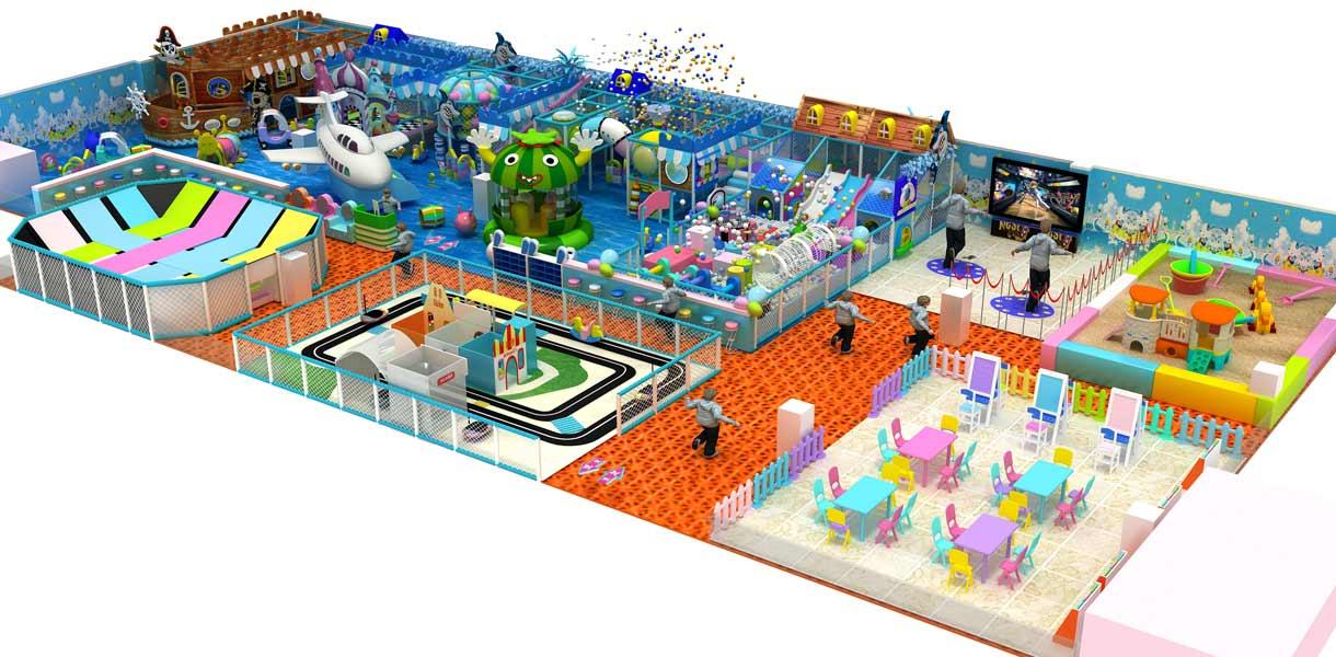 Beston Игровой Комплекс лабиринт 3D проект для клиента